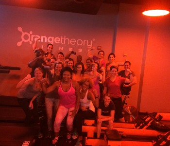 I've Got My Orange Crush in Orangetheory