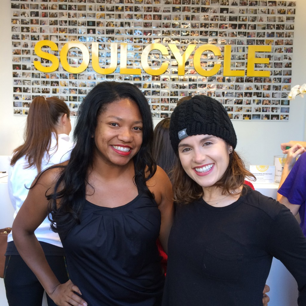 Soul Cycle DC Angelica with Megan Kelly