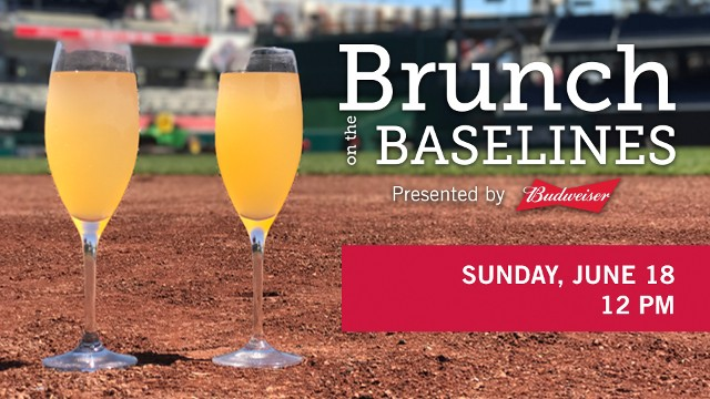 Nationals Present Father's Day Brunch on the Baselines