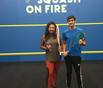 Fitness Spotlight: Squash On Fire